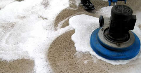 Rotary/Dry Foam Carpet cleaning