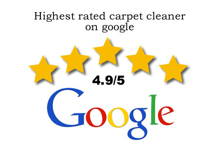 Highest rated carpet cleaner on google