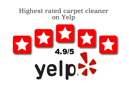 Highest rated carpet cleaner on Yelp